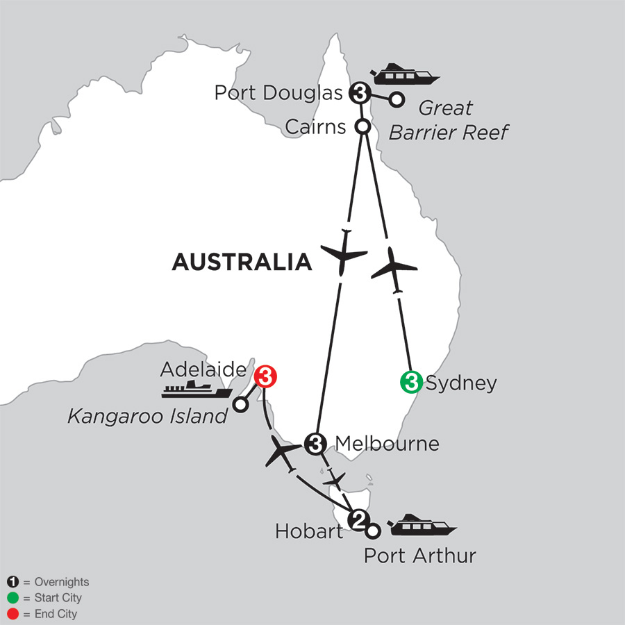 Australian Explorer with Hobart and Adelaide (IPEN2018)