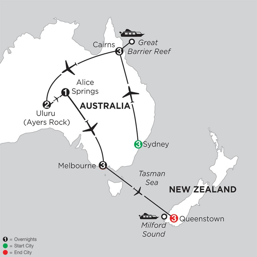 Best of Australia with Queenstown (IPGD2018)