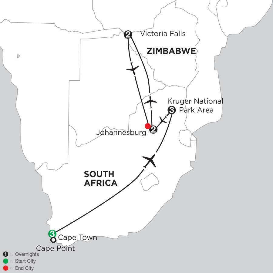 South African Sojourn with Victoria Falls (IQSC2018)