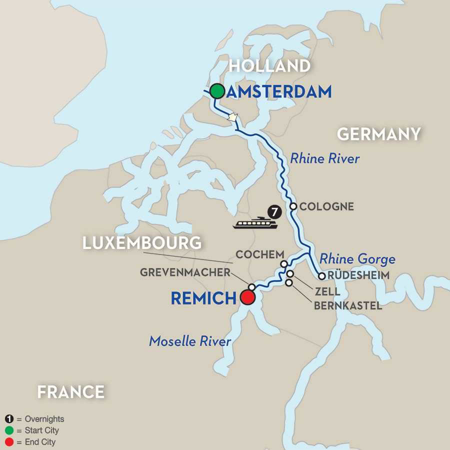 Canals, Vineyards & Paris – Cruise Only Southbound