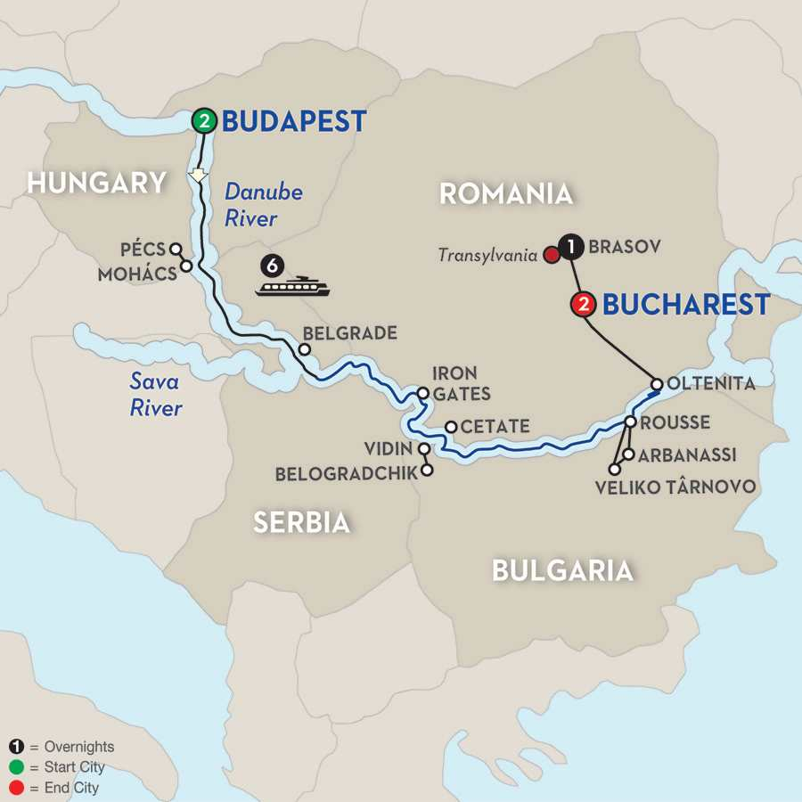 Balkan Discovery with Transylvania – Eastbound