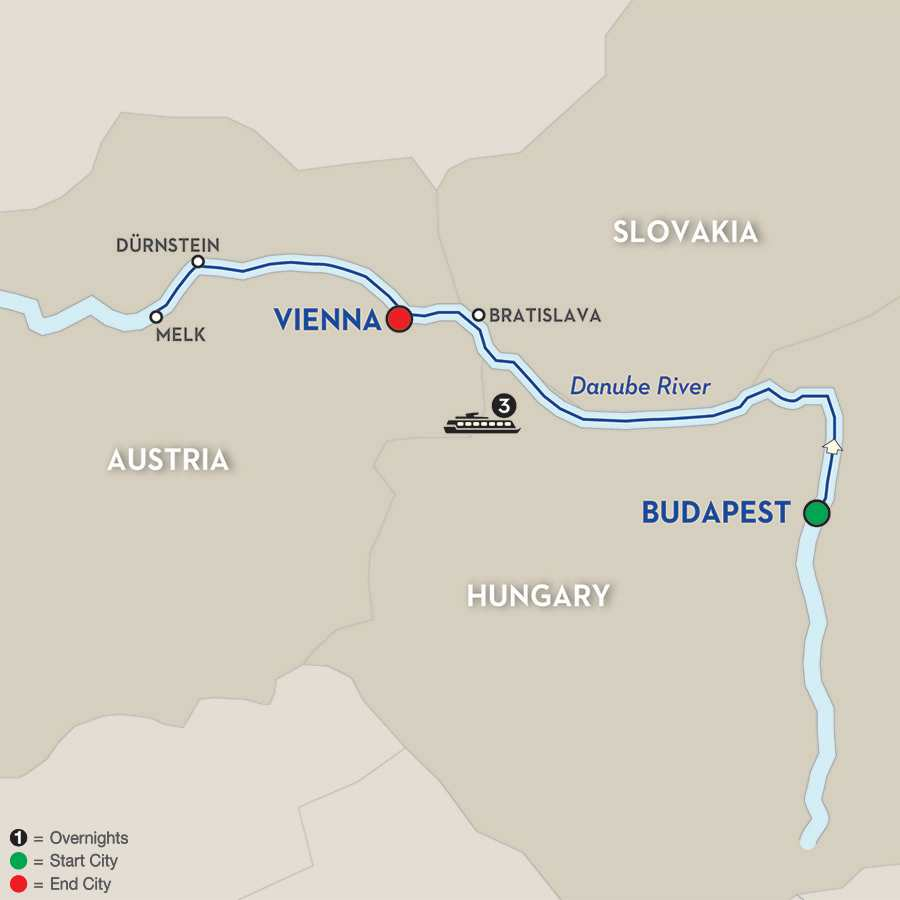 A Taste of the Danube – Cruise Only Westbound
