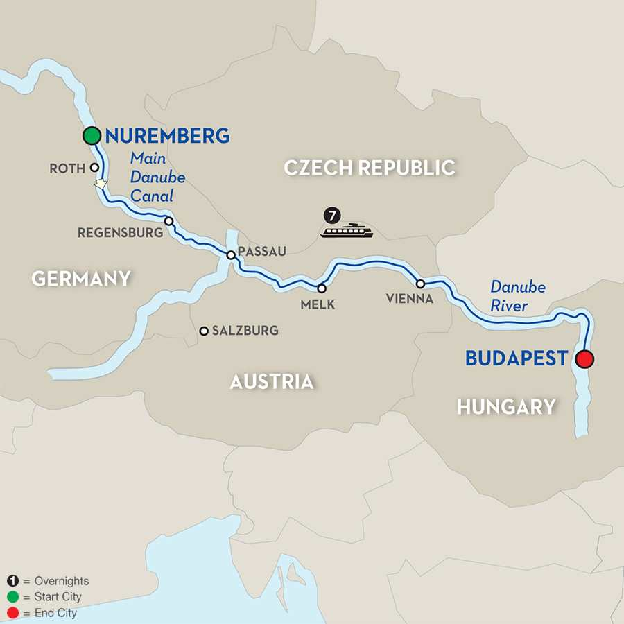 Festive Time on the Legendary Danube – Cruise Only