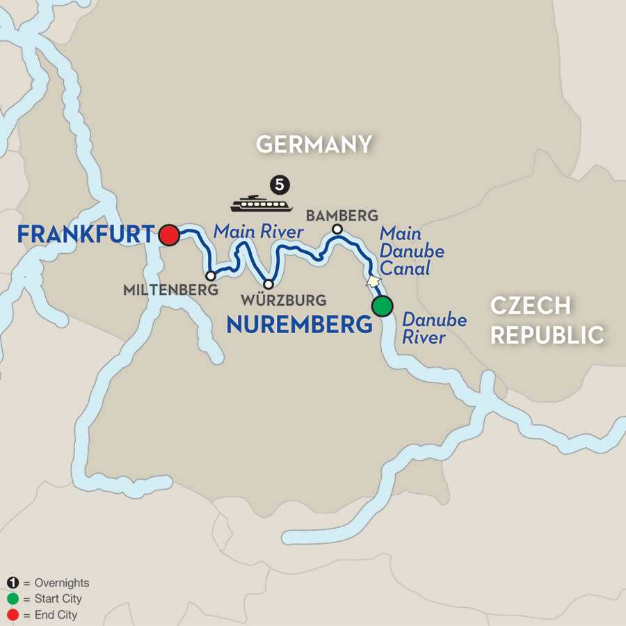 Christmas in the Heart of Germany – Cruise Only Westbound