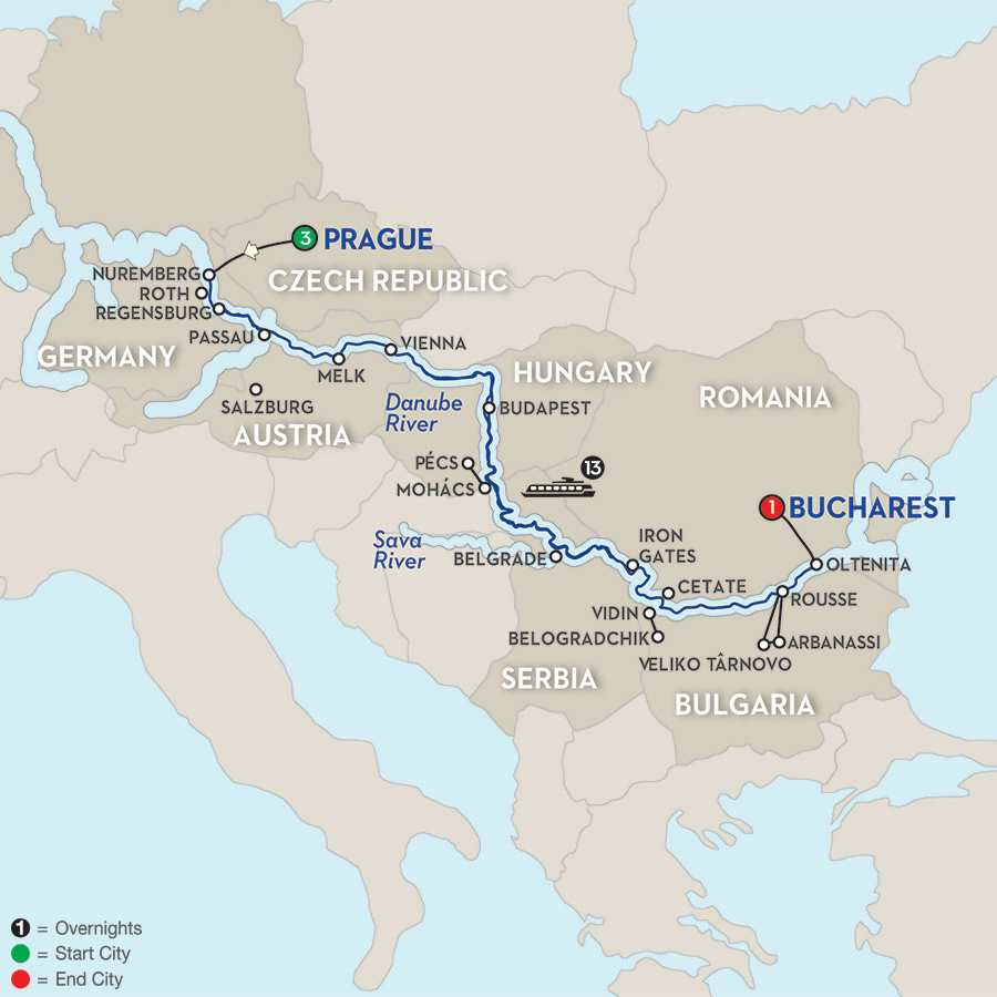 Grand Danube Cruise – Eastbound