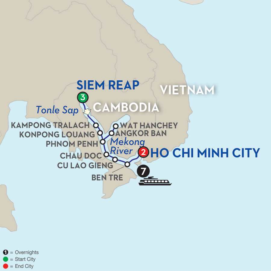 Fascinating Vietnam, Cambodia & the Mekong River - Southbound