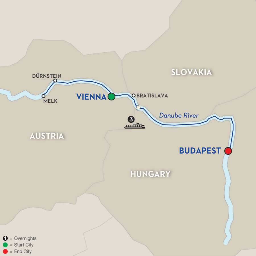 A Taste of the Danube – Cruise Only Eastbound