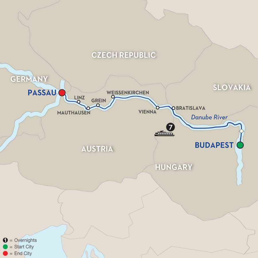 Danube Dreams – Cruise Only Westbound