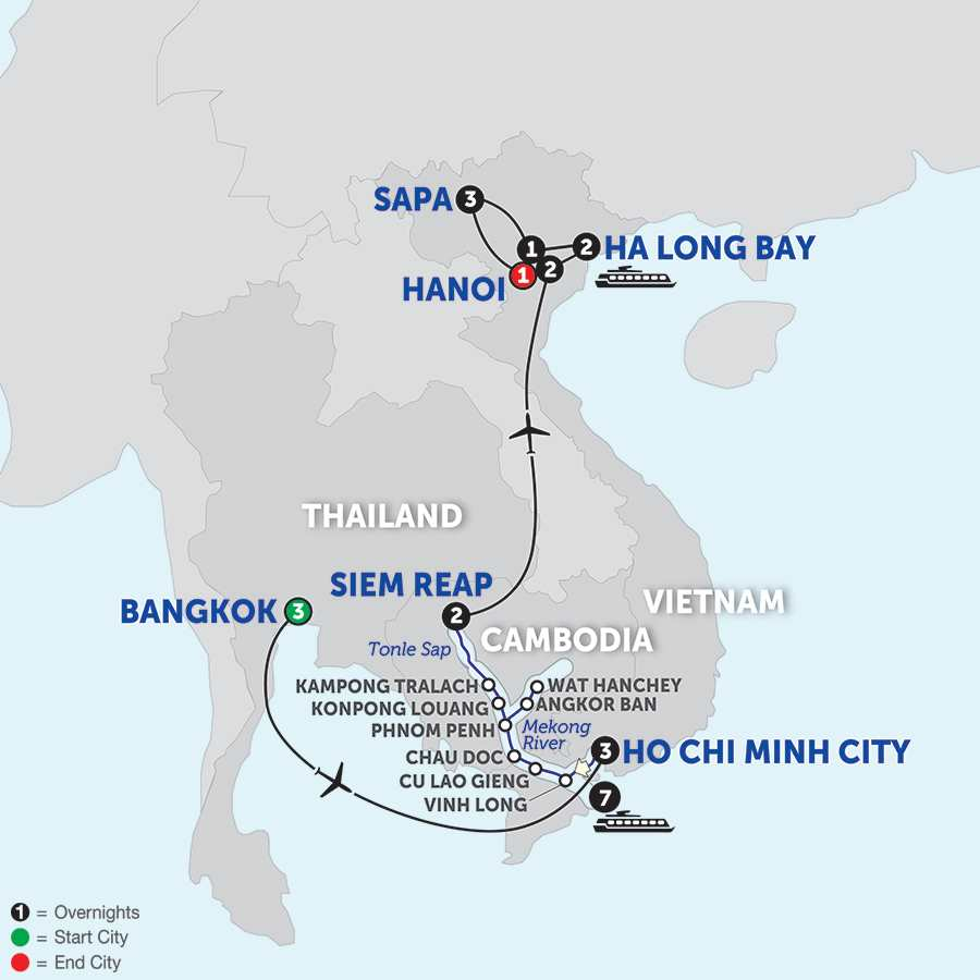 Ultimate Southeast Asia & The Majestic Mekong with Sapa - Northbound