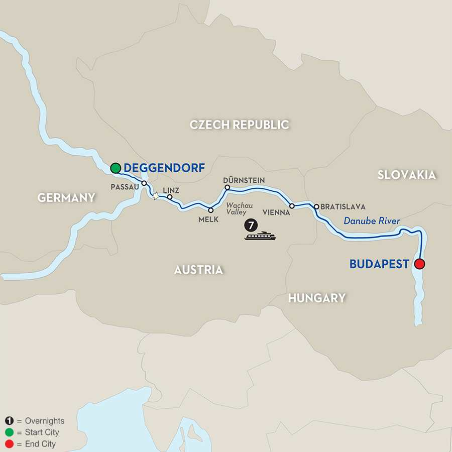 Danube Dreams for Wine Lovers - Cruise Only