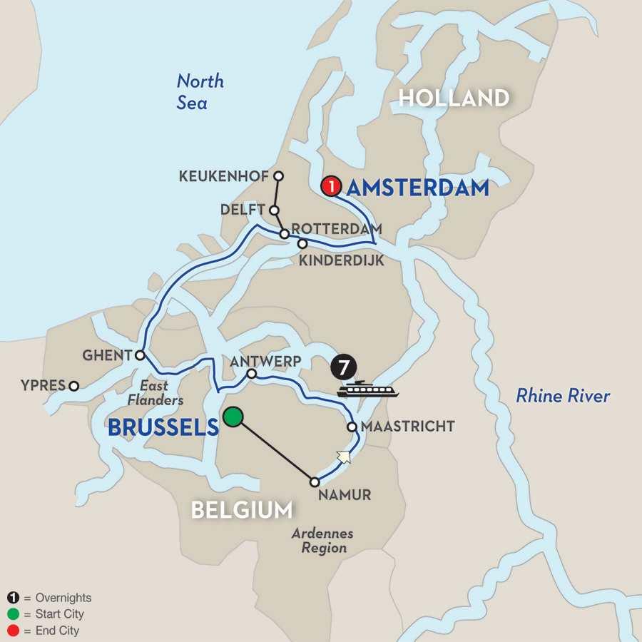 Enchanting Belgium – Northbound