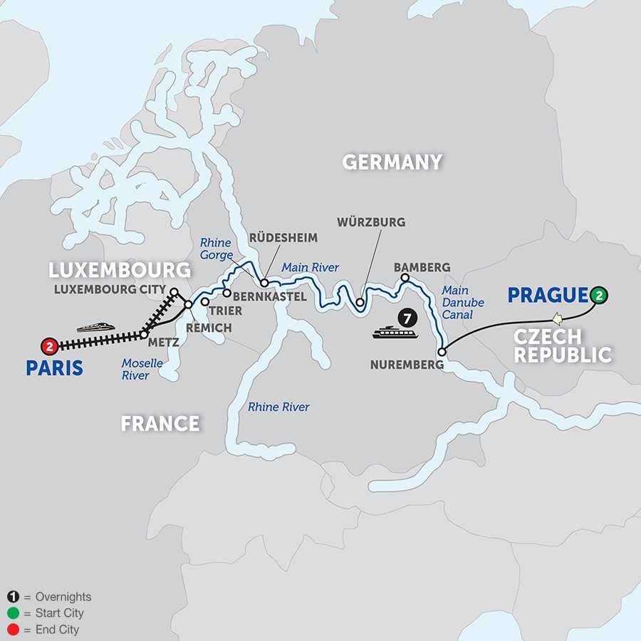 German River Cruises Avalon Waterways