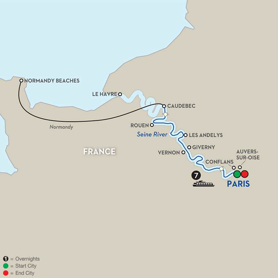 Paris to Normandy Culinary River Cruise Avalon Waterways