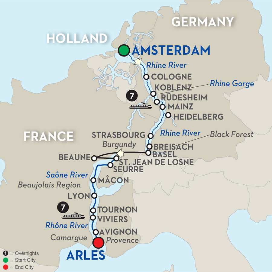 Rhine & Rhône Revealed & Jewish Heritage - Cruise Only