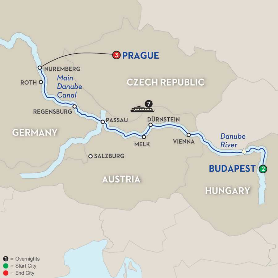 The Blue Danube Discovery for Golfers