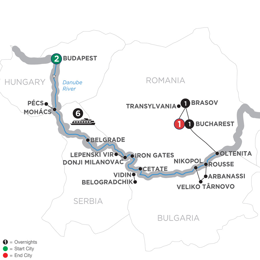 Balkan Discovery with 2 Nights Transylvania