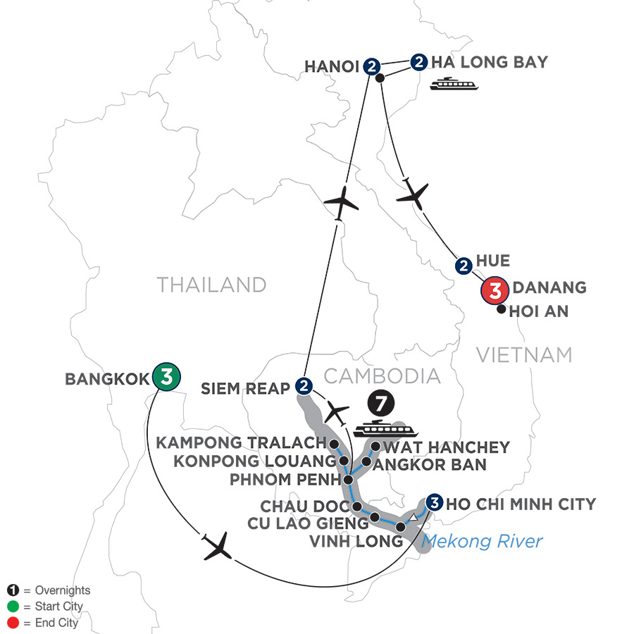 Thailand River Cruise - Avalon Waterways® Asia River Cruises