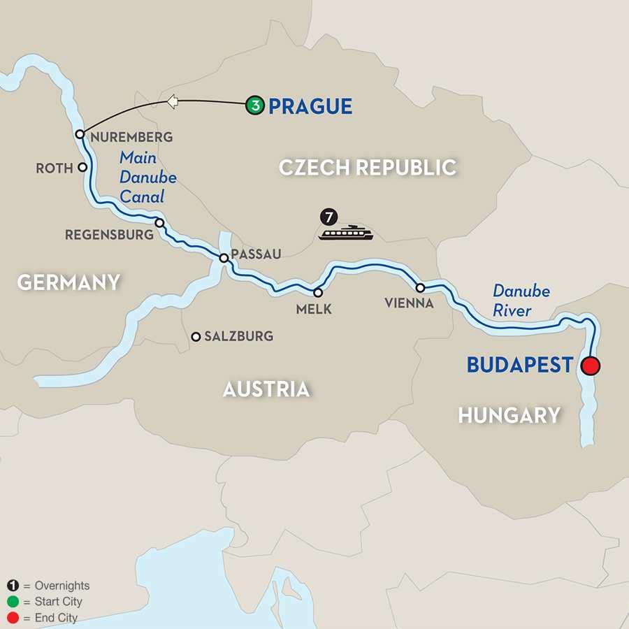 The Legendary Danube Author Cruise
