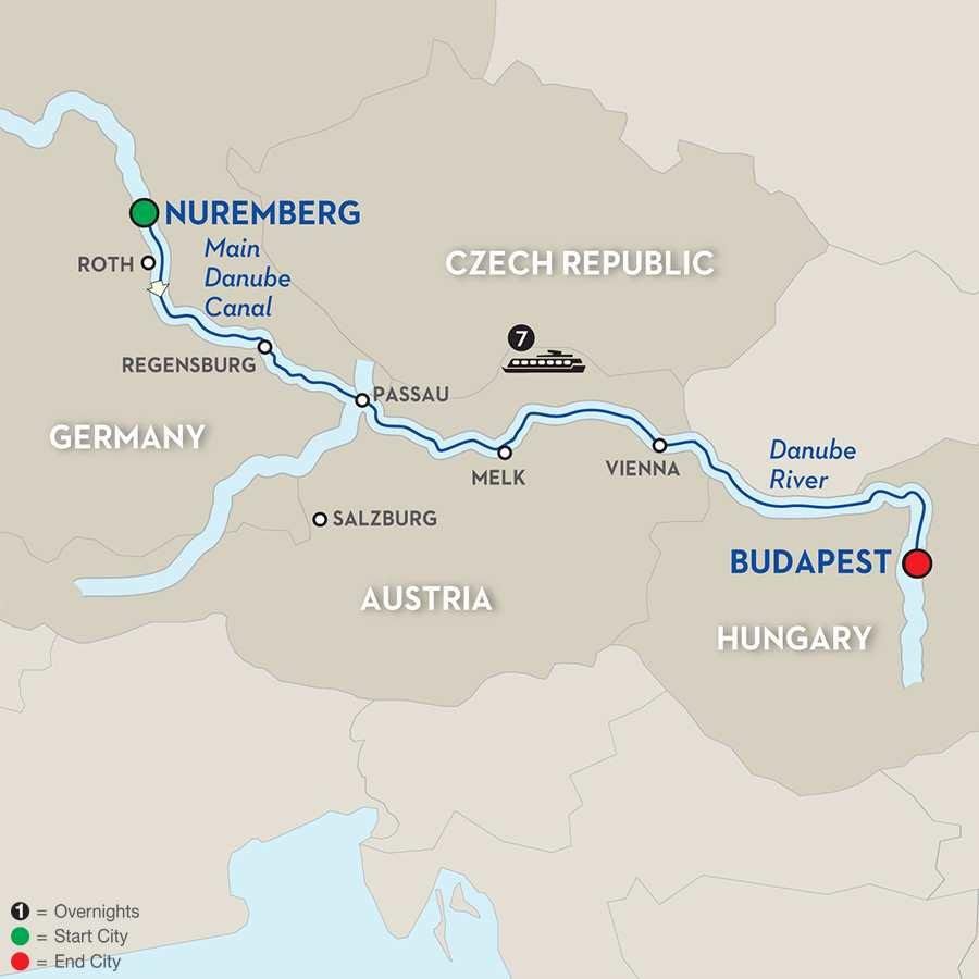 Festive Season on the Legendary Danube - Cruise Only