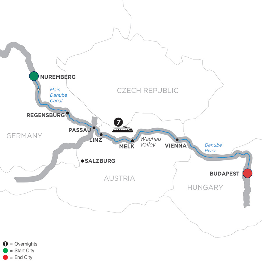 The Legendary Danube – Cruise Only