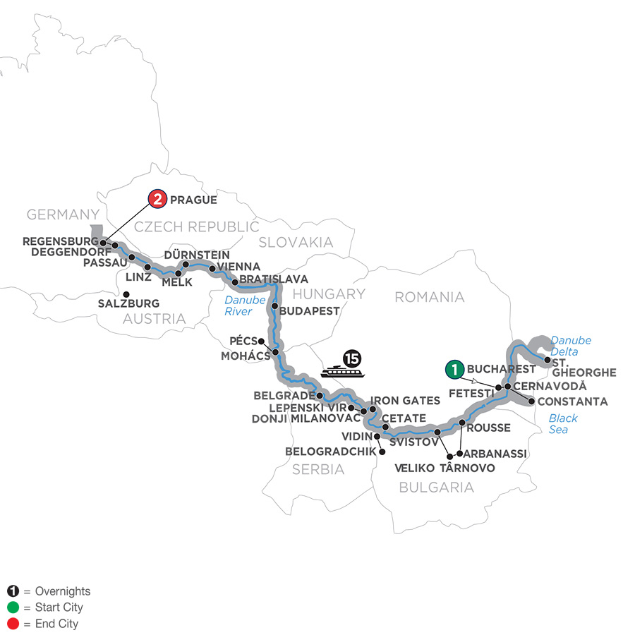 Prague River Cruises | Avalon Waterways® River Cruises in Prague