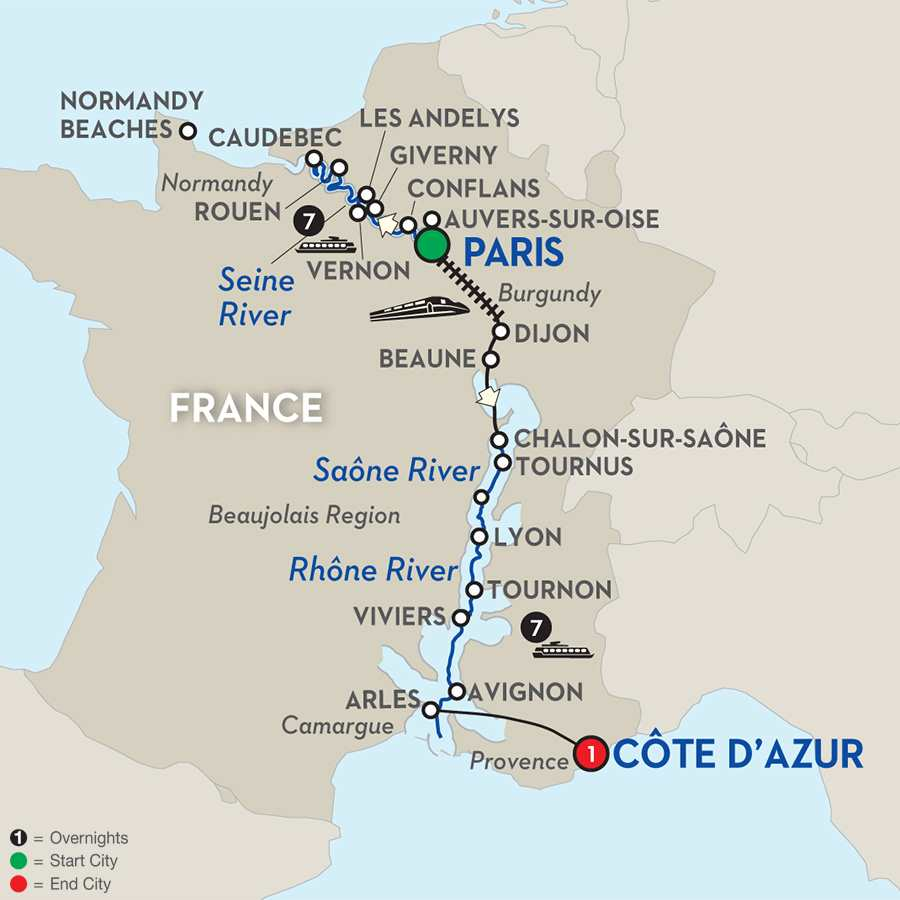 Grand France WWII Remembrance & History Cruise
