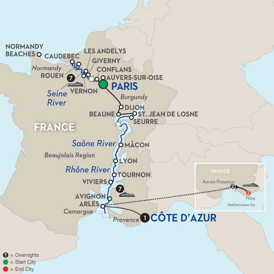 2017 Europe WWII History River Cruises - Avalon Waterways®