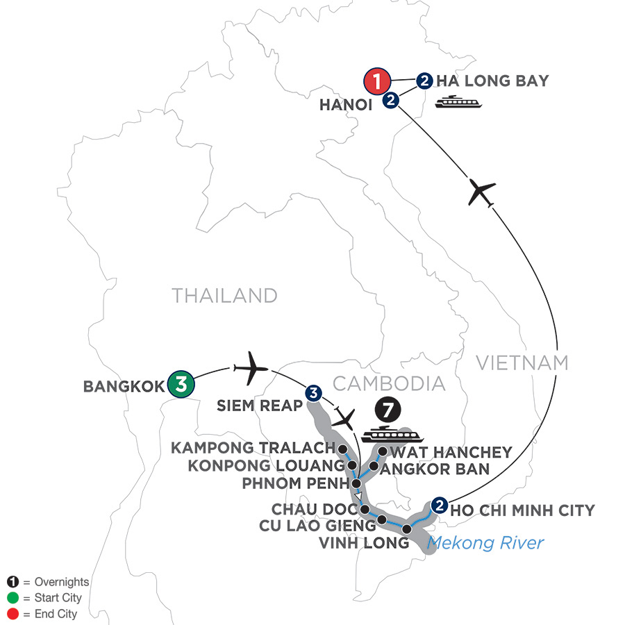 Ultimate Southeast Asia & The Majestic Mekong – Southbound