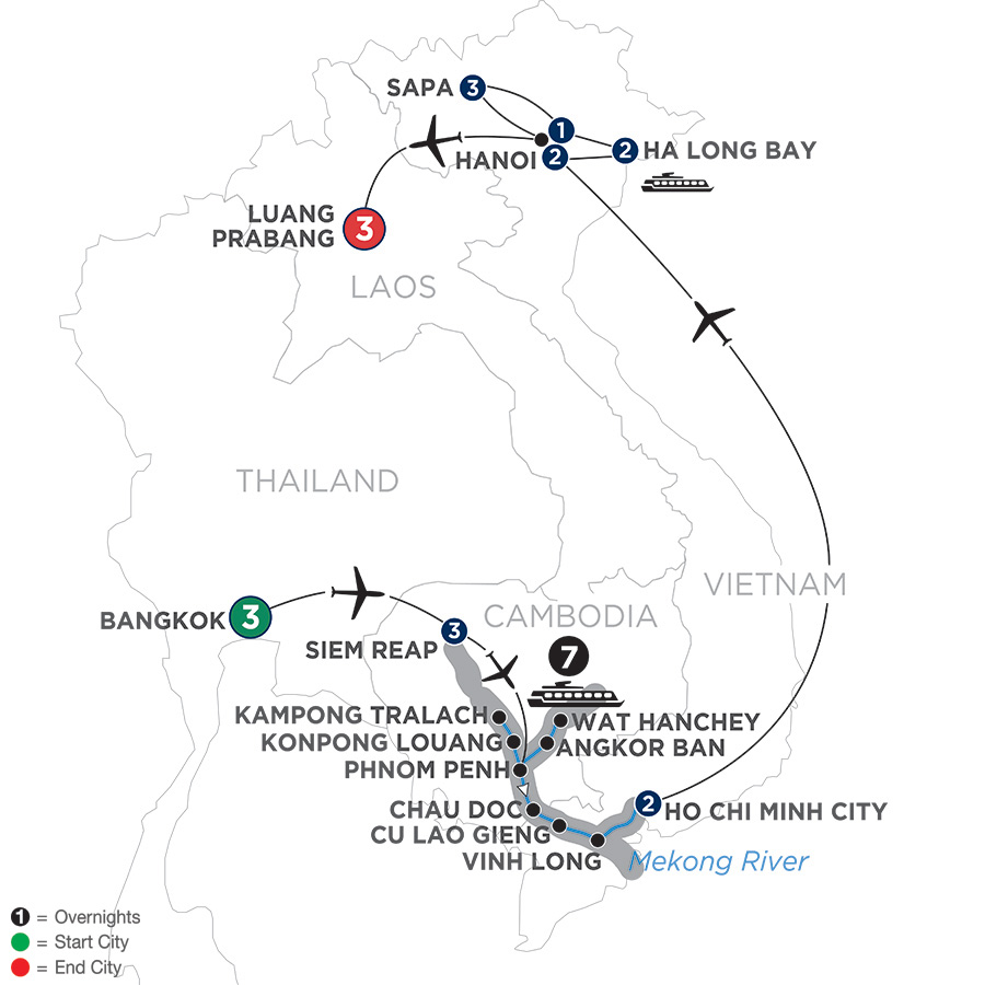 Ultimate Southeast Asia & The Majestic Mekong – with Sapa & Luang Prabang – Southbound