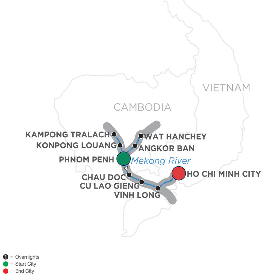 Mekong Discovery – Cruise Only Southbound