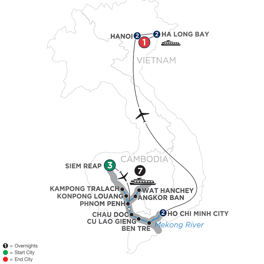 The Heart of Cambodia & Vietnam – Southbound
