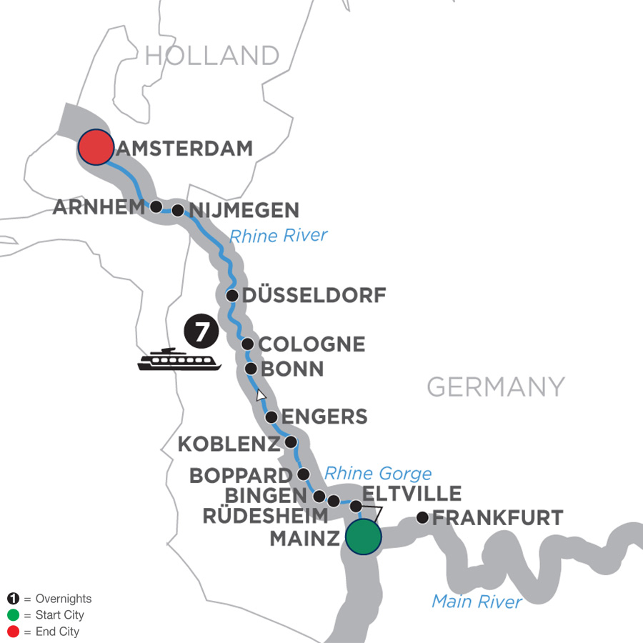 Map Of Germany Showing Cologne.Cologne River Cruises Avalon Waterways