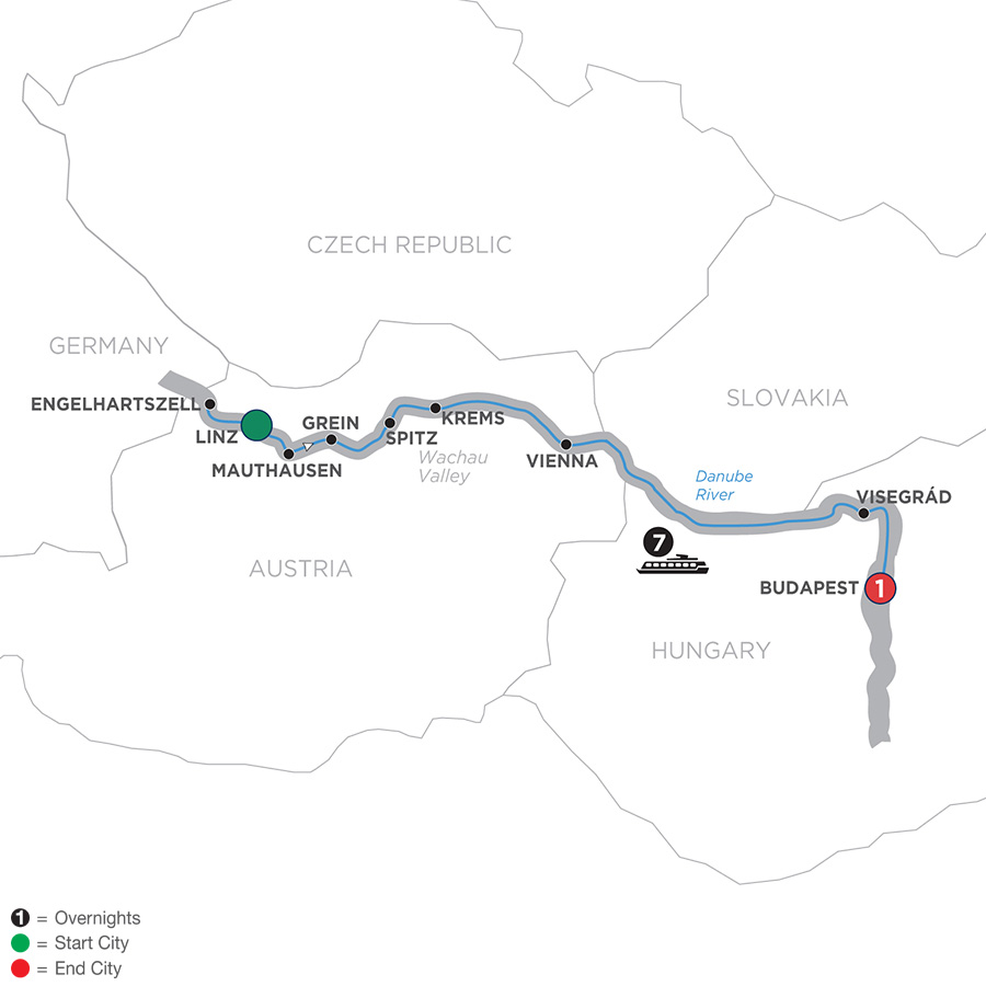 Active Discovery on the Danube – Eastbound