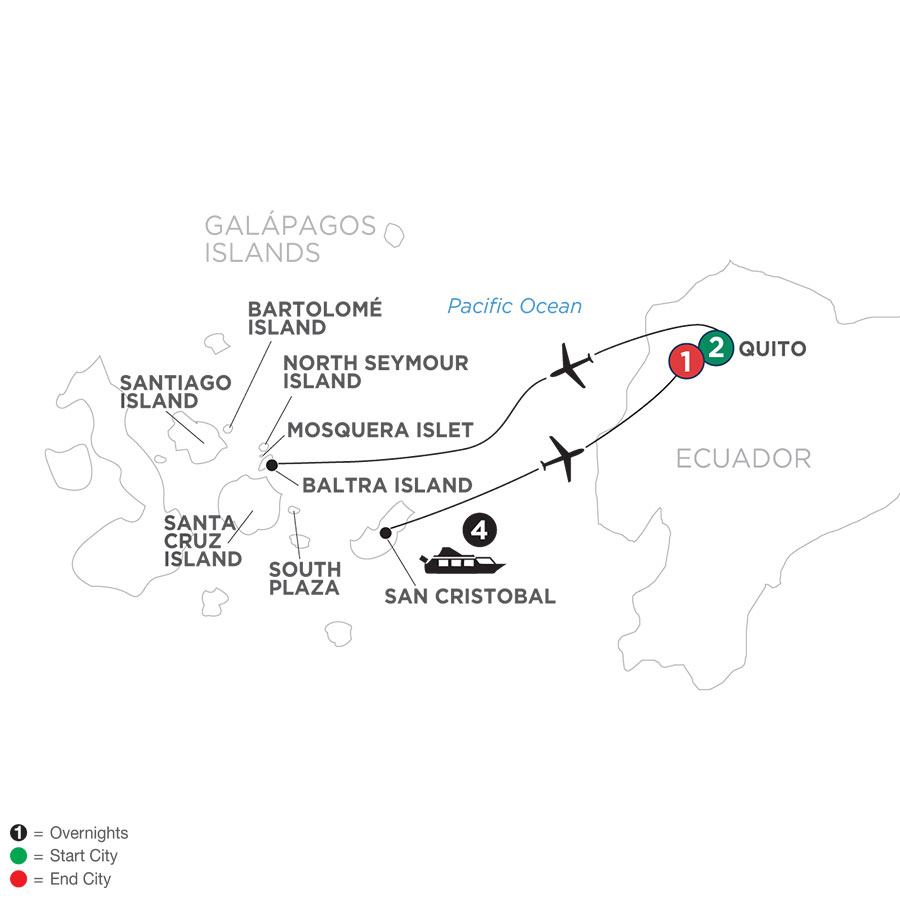 Ecuador & Its Galápagos Islands