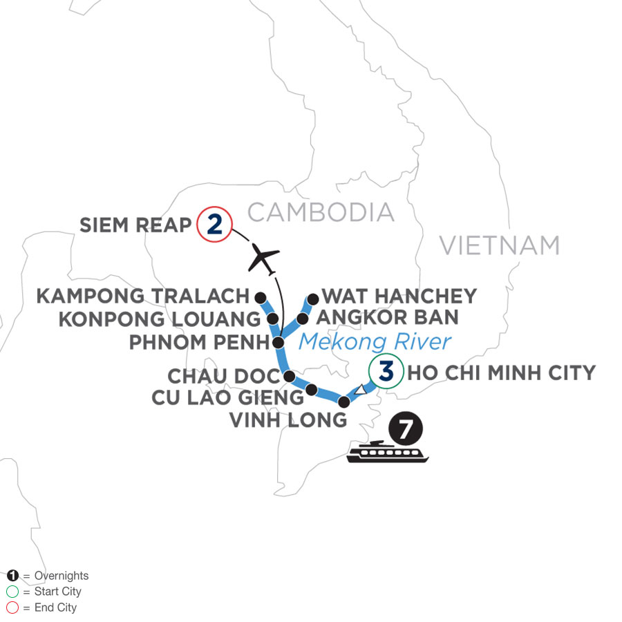 Fascinating Vietnam, Cambodia & the Mekong River (Northbound)