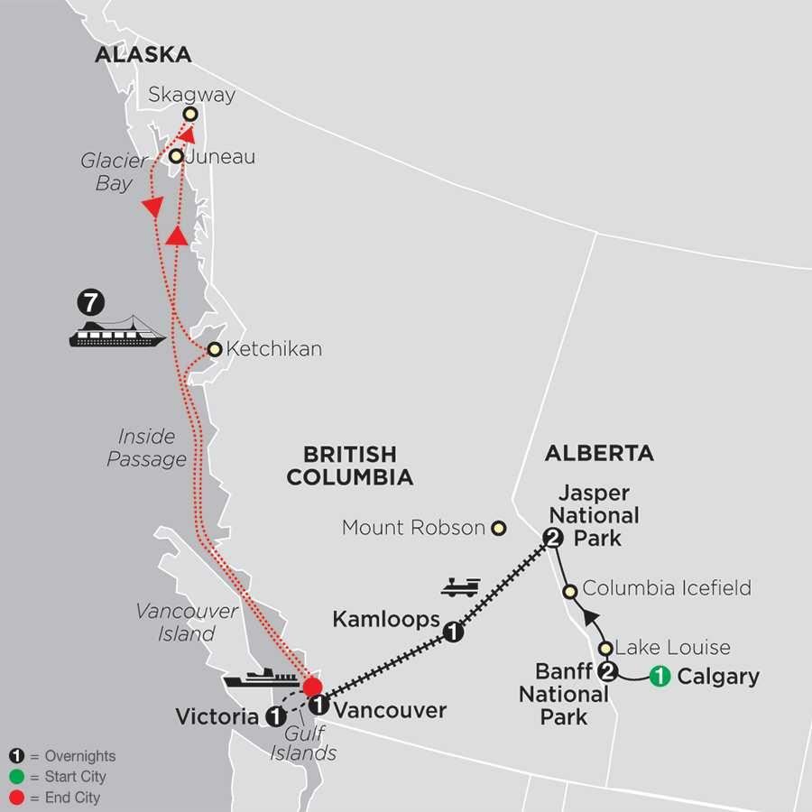 Alaska Tour Cosmos 174 Budget Travel