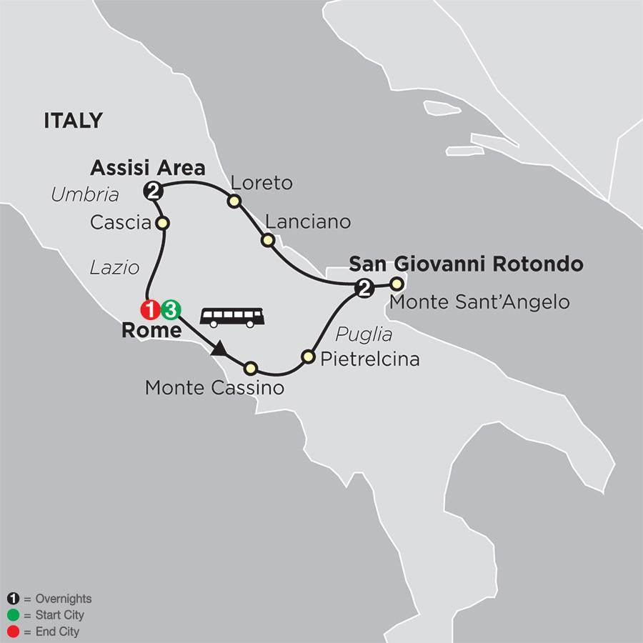 Spiritual Highlights of Italy – Faith Based Travel