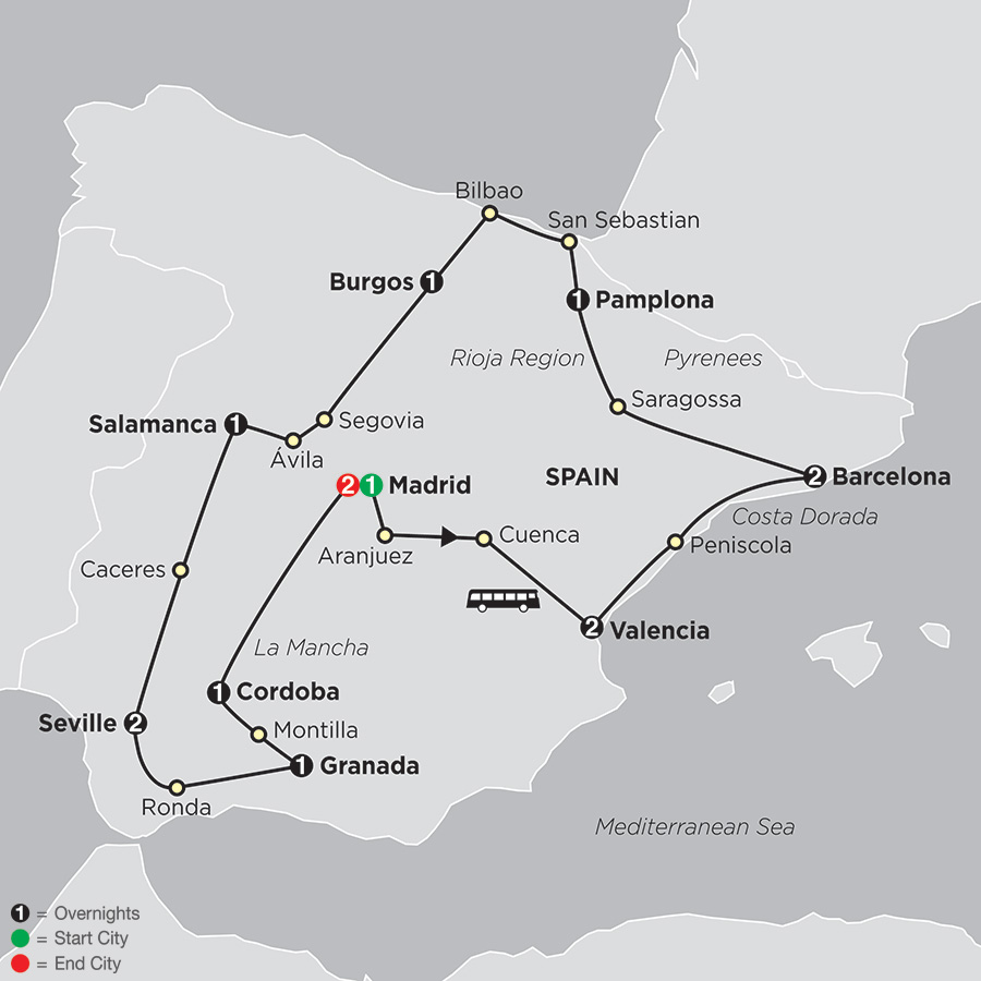 Grand Tour of Spain