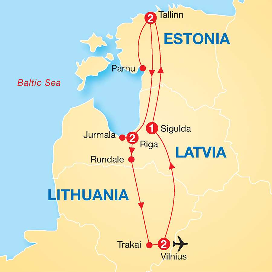The Best of the Baltic States