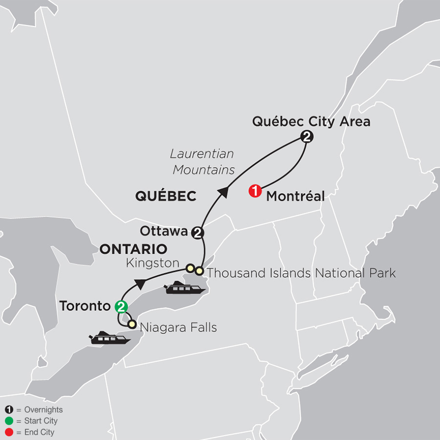 Ontario & French Canada