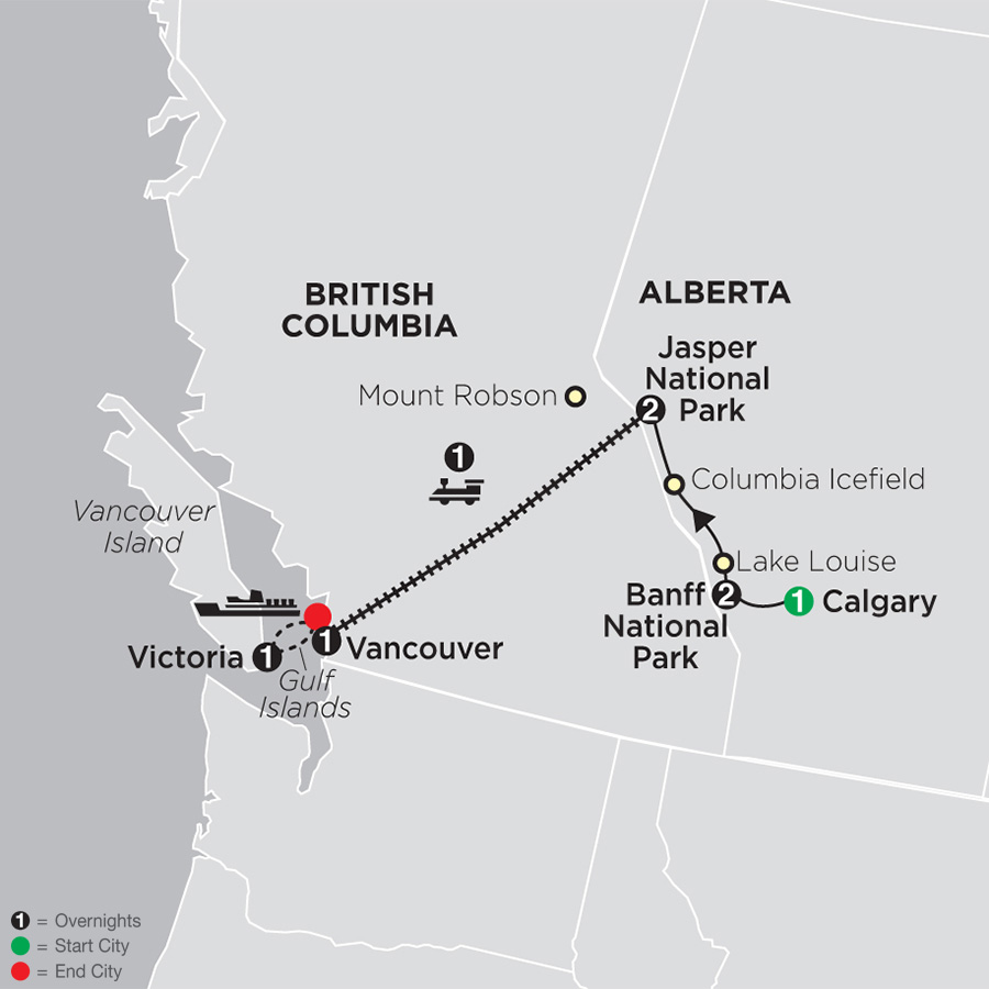 Western Canada by Rail on VIA Rail