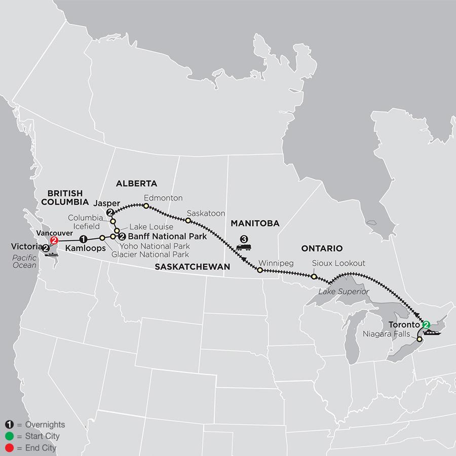 Canadian Train Odyssey