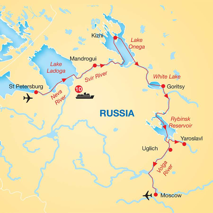 Russian River Cruise From St Petersburg To Moscow Cosmos