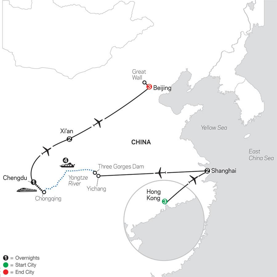 Spirit of China & the Yangtze River