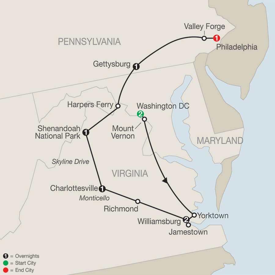 America's Historic East