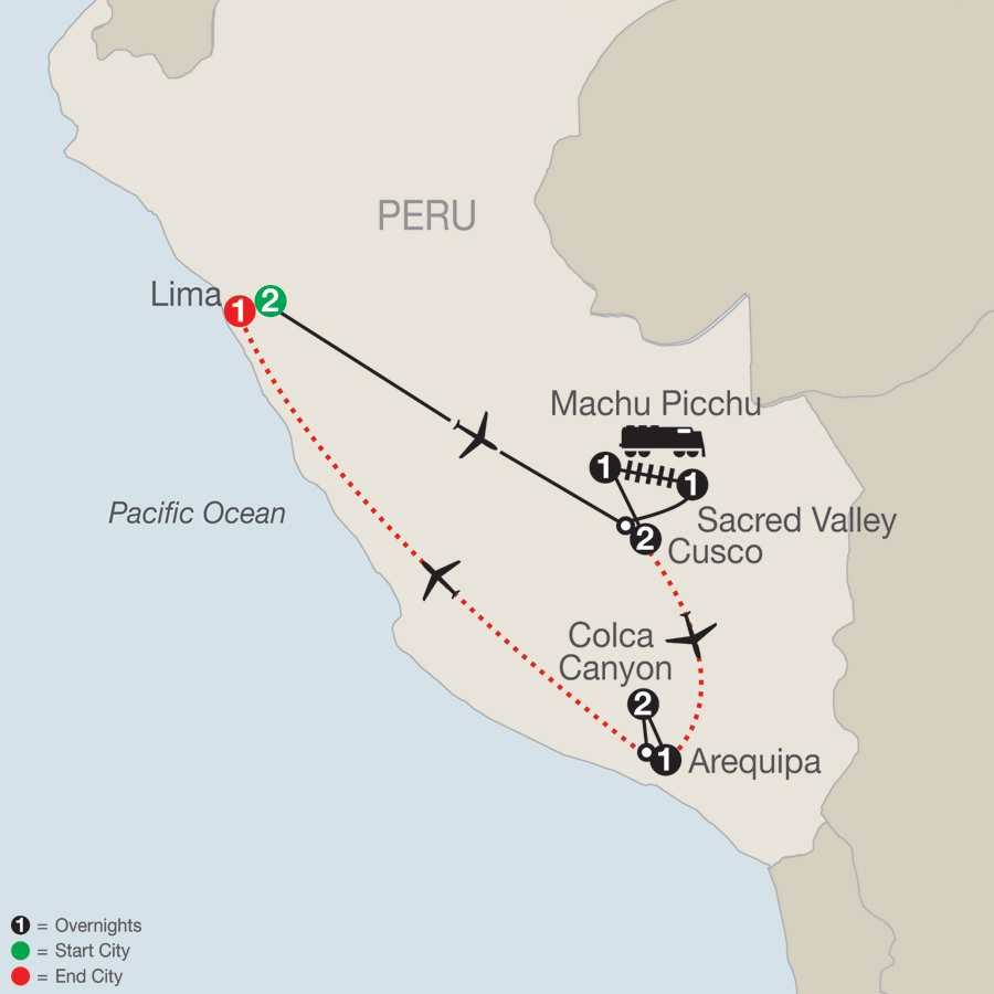 Peru Splendors with Arequipa & Colca Canyon