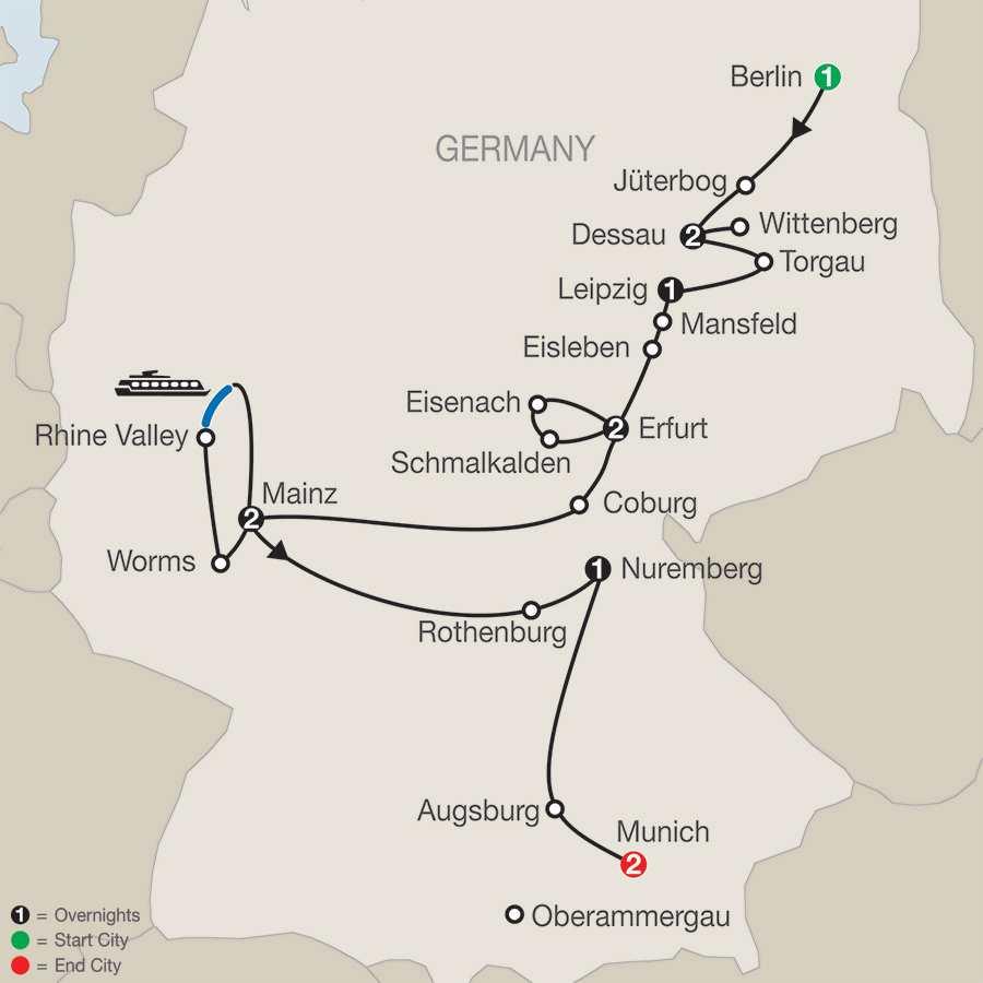 The European Reformation Jubilee Tour – Faith-Based Travel