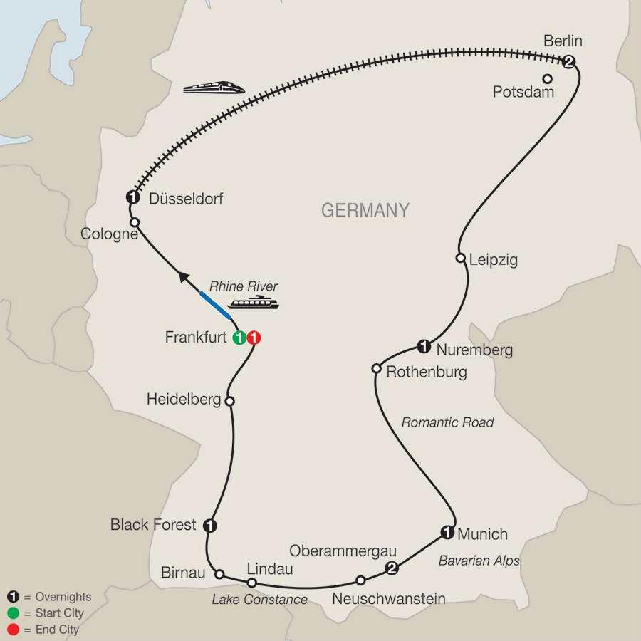 German Highlights