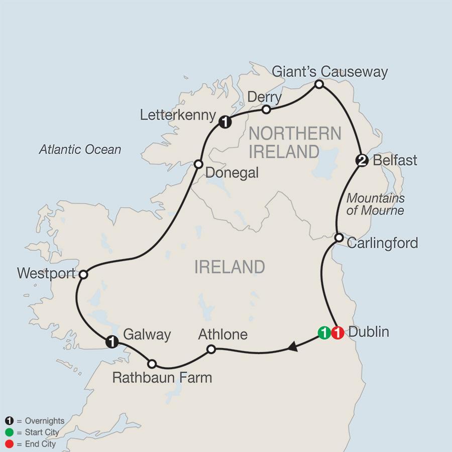 North of Ireland Escape