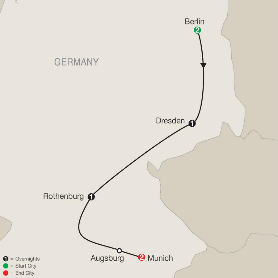 German Escape Tour Package (KDA) - Escapes by Globus®